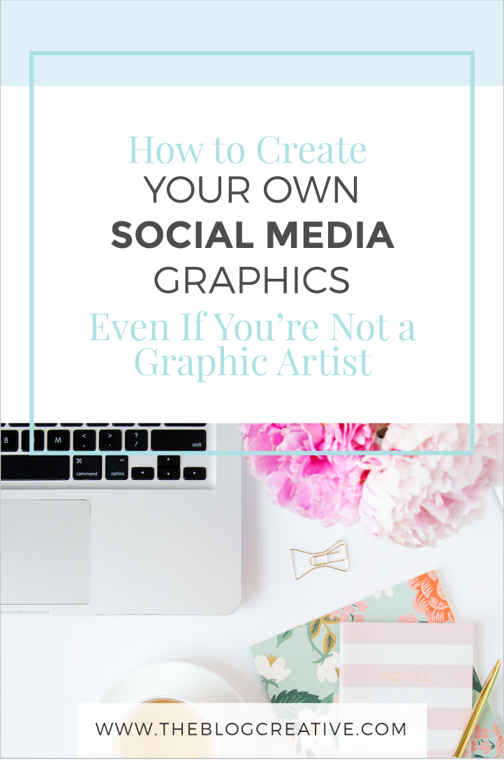 Social media graphics creation