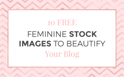 10 Free Feminine Stock images to Beautify Your Blog