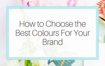 How to Choose the Best Colours for Your Brand