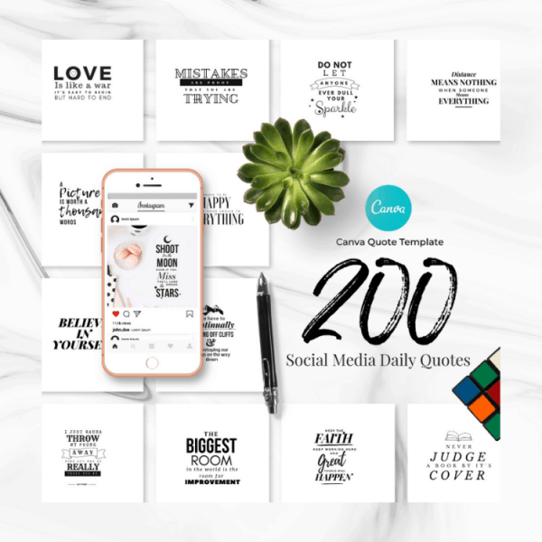 200 Canva Quotes for Instagram and social media