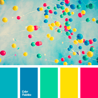 Colors for creative themes