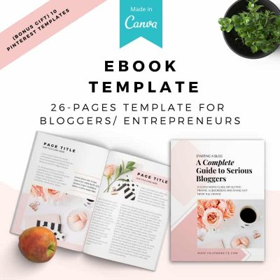 Boss Lady Workbook Canva Template - The Blog Creative
